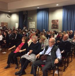"""Il numeroso pubblico nell'Auditorium del Conservatorio """"O. Respighi"""""""