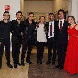 Marilena Sovrani, al centro nella foto, già Assessore alla Cultura del Comune di Latina