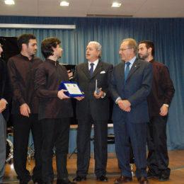Consegna del Premio del Pubblico da parte dei presidenti dei Club