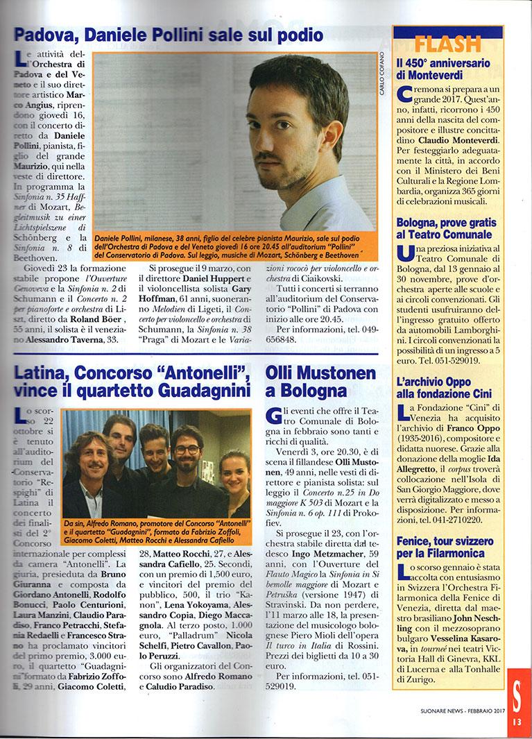 SUONARE-NEWS-FEBBRAIO-2017